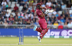 West Indies Nicholas Pooran during the ICC Cricket World Cup group stage match at Old Trafford, Manchester.