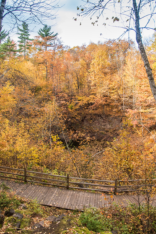 Jackson Miner's Park is the spot where iron ore was first discovered in Michigan and a popular stop along Iron Ore Heritage Trail, a multiuse recreation trail connecting communities in Marquette County on Michigan's Upper Peninsula.