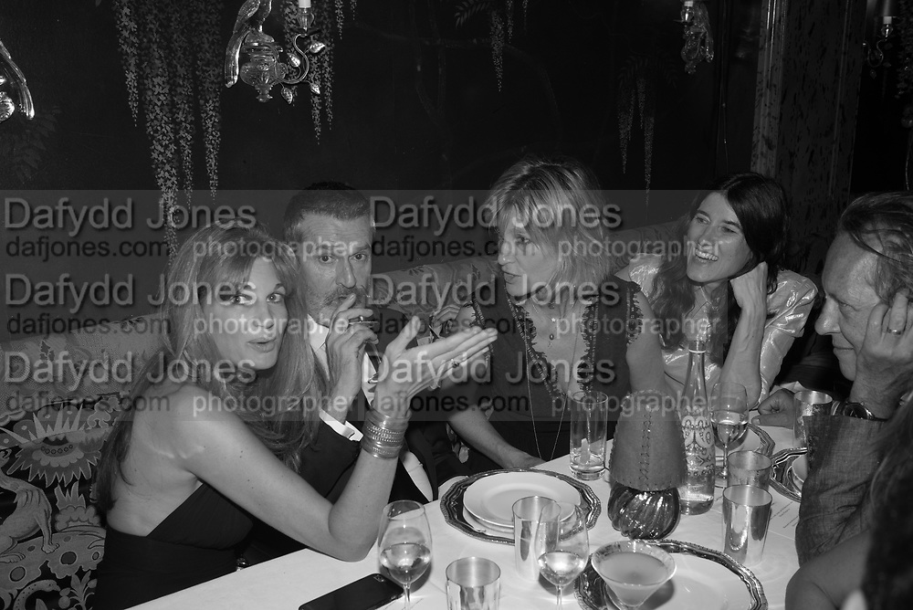 JEMIMA KHAN: RUPERT EVERETT? NICOLA FORNBY; BELLA FREUD; RICHARD E GRANT, , Robin Birley and Lady Annabel Goldsmith Summer Party. Hertford St. London. 5 July 2017