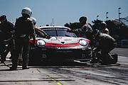 June 28 - July 1, 2018: IMSA Weathertech 6hrs of Watkins Glen. 912 Porsche GT Team, Porsche 911 RSR, Laurens Vanthoor, Earl Bamber