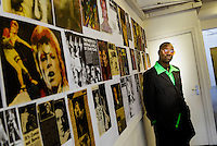 Hull's Freedom Festival 2013, Saturday 7, September 2013, Hull, East Yorkshire UK. Pictured: Museum Of Club Culture, Ziggy: An Exhibition Of Photographs By Peter Hardy