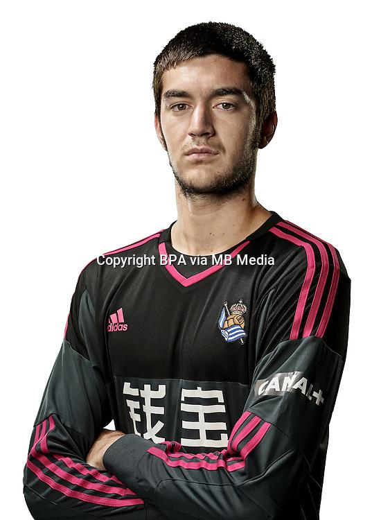 Spain - Liga BBVA 2015-2016 / <br /> ( Real Sociedad de Futbol ) - <br /> Ander Bardaji