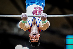 October 29, 2018 - Doha, Qatar - Artur Dalaloyan of  Russia   during  High Bar, Team final for Men at the Aspire Dome in Doha, Qatar, Artistic FIG Gymnastics World Championships on October 29, 2018. (Credit Image: © Ulrik Pedersen/NurPhoto via ZUMA Press)