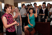 KATHY LETTE; DANNII MINOGUE Terry Ronald - book launch party for his book ' Becoming Nancy' . The Westbury Hotel, Pine Room, Bond Street, London, W1S 2YF<br /> -DO NOT ARCHIVE-&copy; Copyright Photograph by Dafydd Jones. 248 Clapham Rd. London SW9 0PZ. Tel 0207 820 0771. www.dafjones.com.