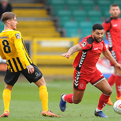 TELFORD COPYRIGHT MIKE SHERIDAN 2/3/2019 - Ellis Deeney of AFC Telford during the National League North fixture between Boston United and AFC Telford United at the York Street Jakemans Stadium