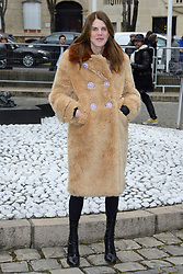 Anna dello Russo attending the Miu Miu show as part of the Paris Fashion Week Womenswear Fall/Winter 2018/2019 in Paris, France on March 06, 2018. Photo by Aurore Marechal/ABACAPRESS.COM