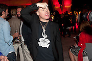 DAMIEN HIRST, Hosted by Interview Russia.  On behalf of Ferrari, Peter M. Brant and SothebyÕs Tobias Meyer party in honor of FerrariÕs Chairman, Luca di Montezemolo, 1111 Lincoln Road, the iconic car-park in the shopping mall designed by the Pritzker prize winning team Herzog & de Meuron.,  Miami Beach. 29 November 2011.<br /> DAMIEN HIRST, Hosted by Interview Russia.  On behalf of Ferrari, Peter M. Brant and Sotheby's Tobias Meyer party in honor of Ferrari's Chairman, Luca di Montezemolo, 1111 Lincoln Road, the iconic car-park in the shopping mall designed by the Pritzker prize winning team Herzog & de Meuron.,  Miami Beach. 29 November 2011.