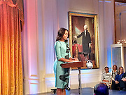 Michelle Obama celebrates Broadway at the White House