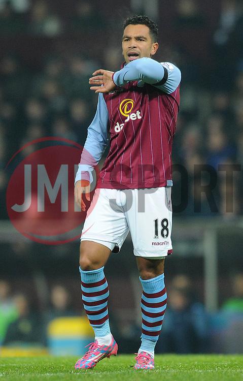 Aston Villa's Kieran Richardson - Photo mandatory by-line: Dougie Allward/JMP - Mobile: 07966 386802 - 24/11/2014 - SPORT - Football - Birmingham - Villa Park - Aston Villa v Southampton - Barclays Premier League