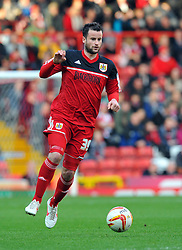 Bristol City's Matthew Bates - Photo mandatory by-line: Joe Meredith/JMP  - Tel: Mobile:07966 386802 17/11/2012 - Bristol City v Blackpool - SPORT - FOOTBALL - Championship -  Bristol  - Ashton Gate Stadium -