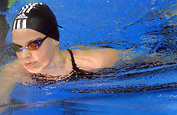 Christin Zenner (GER), Women`s 200m Backstroke, at 4th day of Heats of LEN European Short Course Swimming Championships Rijeka 2008, on December 14, 2008,  in Kantrida pool, Rijeka, Croatia. (Photo by Vid Ponikvar / Sportida)