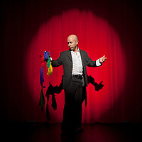 Cesar Domico left Colombia, where he was a famed magician, after he received death threats for having fundraising shows for indigenous peoples displaced by paramilitary forces and left-wing guerillas. He moved to the US and worked at Wal-Mart, using gloves to protect his dextrous hands. He now performs widely across Florida and says that regardless of where he lives the stage is always his home.