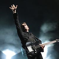 Nederland, Landgraaf, 12 juni 2015<br /> Het laatste optreden van de eerste Pinkpop festival dag met de band Muse tijdens <br /> <br /> Foto: Jean-Pierre Jans