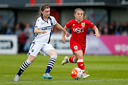 Paige Sawyer of Bristol City Women in action - Mandatory byline: Rogan Thomson/JMP - 09/07/2016 - FOOTBALL - Stoke Gifford Stadium - Bristol, England - Bristol City Women v Milwall Lionesses - FA Women's Super League 2.