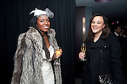 TIFFANY ALLEN; ALANA WASHINGTON, The Centrepoint Paramount Club afterparty following the press night of 'Cat On A Hot Tin Roof', at the Novello Theatre, Aldwych, London.  1 December 2009