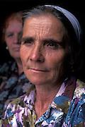 Kosovar Albanian woman, Kosovo.