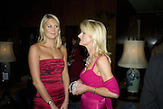 LUCY NAGLE AND ROISIN HENRY, The 2007 Cartier Racing Awards. Four Seasonss Hotel. London. 14 November 2007. -DO NOT ARCHIVE-© Copyright Photograph by Dafydd Jones. 248 Clapham Rd. London SW9 0PZ. Tel 0207 820 0771. www.dafjones.com.