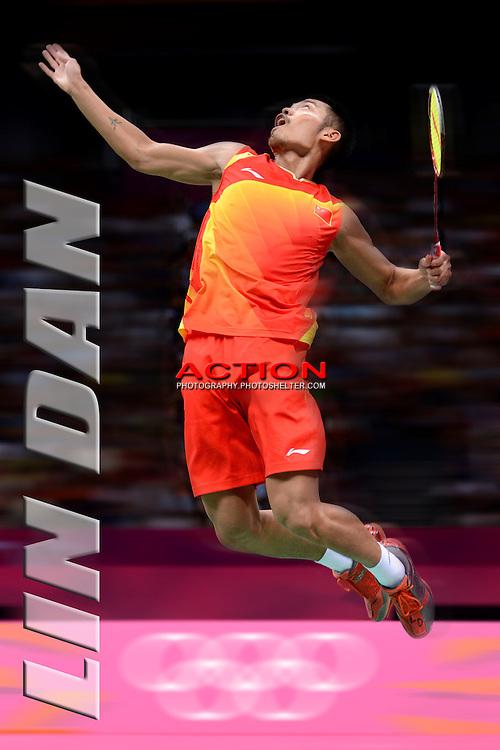 Lin Dan, China, Olympic Gold Medal, London Olympics 2012