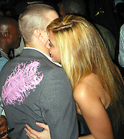 **EXCLUSIVE**.Kevin Federline with new squeeze Angela.Shaquille O'Neal Kick Off Event.Casa Casaurina aka (Versace Mansion).Miami Beach, FL, USA.Thursday, February 01, 2007.Photo By Celebrityvibe.com.To license this image please call (212) 410 5354; or.Email: celebrityvibe@gmail.com ;.Website: www.celebrityvibe.com