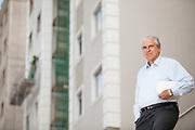Belo Horizonte_MG, 28 de junho de 2011.<br /> <br /> Na foto, Rubens Menim, presidente da construtora MRV.<br /> <br /> Foto: LEO DRUMOND / NITRO