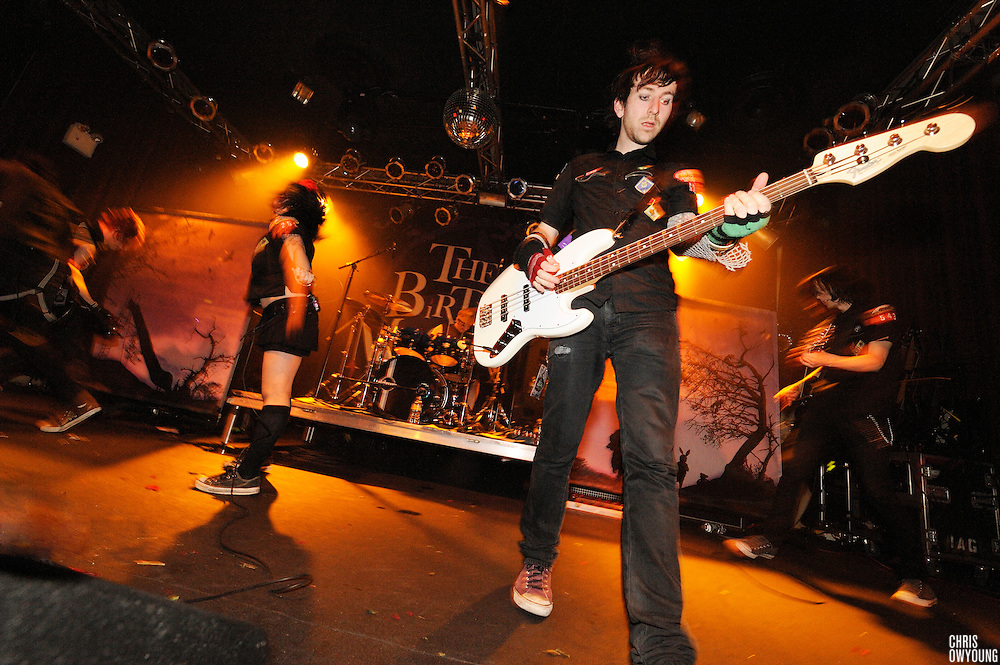 The Birthday Massacre performs at Highline Ballroom on April 27, 2009. New York City, New York