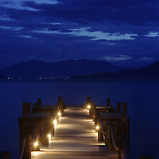 The dock to the Evason Hideaway in Nha Trang, Vietnam.
