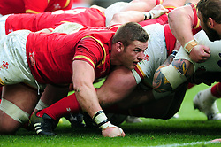 Dan Lydiate of Wales - Mandatory byline: Patrick Khachfe/JMP - 07966 386802 - 12/03/2016 - RUGBY UNION - Twickenham Stadium - London, England - England v Wales - RBS Six Nations.