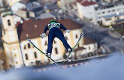 03.01.2014, Bergisel Schanze, Innsbruck, AUT, FIS Ski Sprung Weltcup, 62. Vierschanzentournee, Training, im Bild Denis Kornilov (RUS) // Denis Kornilov (RUS) during practice Jump of 62nd Four Hills Tournament of FIS Ski Jumping World Cup at the Bergisel Schanze, Innsbruck, <br /> Austria on 2014/01/03. EXPA Pictures © 2014, PhotoCredit: EXPA/ JFK