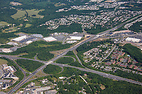 Aerial Photography of Baltimore Harford County Interchanges at Interstate 95 Rt 24 andMD 924