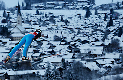 27.12.2014, Schattenbergschanze, Oberstdorf, GER, FIS Ski Sprung Weltcup, 63. Vierschanzentournee, Training, im Bild Siim Tanel Sammelselg (EST) // Siim tanel Sammelselg of Estonia// during practice Jump of 63 rd Four Hills Tournament of FIS Ski Jumping World Cup at the Schattenbergschanze, Oberstdorf, Germany on 2014/12/27. EXPA Pictures © 2014, PhotoCredit: EXPA/ Peter Rinderer