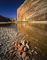 AA03477-02...COLORADO - Steamboat Rock in Echo Park in Dinosaur National Monument.