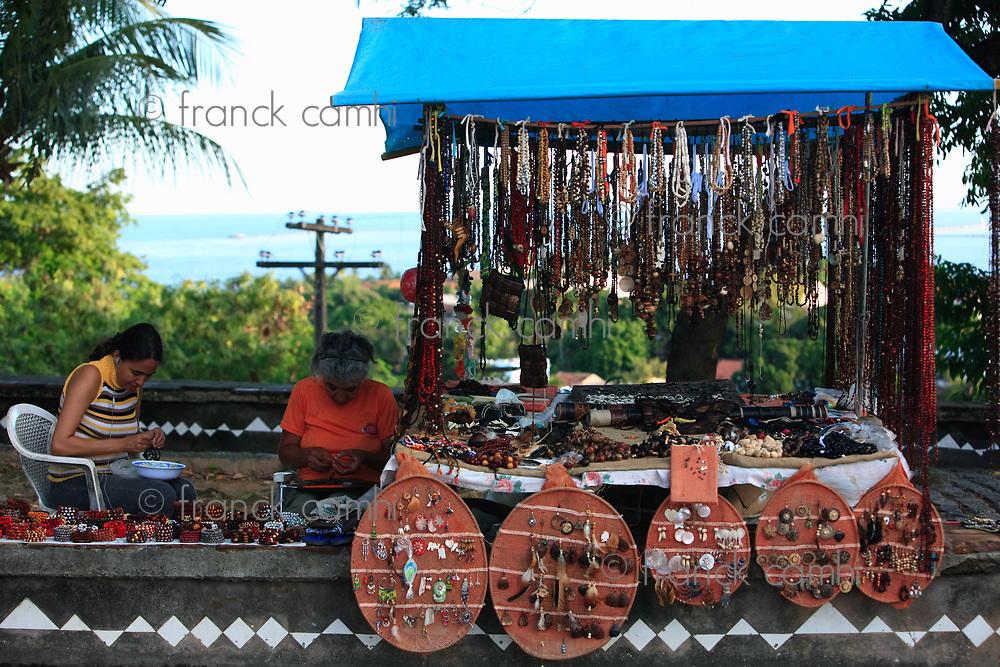 Recife, Brazil - september 17, 2007: craft industry in olinda near recife pernambuco state brazil on september 17, 2007