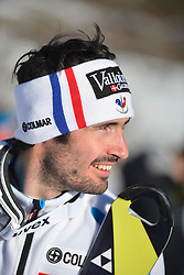 13.12.2013, Stade Olympique de Bellevarde, Val d Isere, FRA, FIS Weltcup Ski Alpin, Val d Isere, freies Training, im Bild Jean Baptiste Grange (FRA) // during a practice session prior to the Val d Isere FIS Ski Alpin World Cup at the Stade Olympique de Bellevarde in Val d Isere, France on 2013/12/13. EXPA Pictures © 2013, PhotoCredit: EXPA/ Pressesports/ Prevost<br /> <br /> *****ATTENTION - for AUT, SLO, CRO, SRB, BIH, MAZ, POL only*****