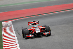 Motorsports / Formula 1: World Championship 2011, Testing in Barcelona, test, D Ambrosio ( BEL, Marussia Virgin Racing )