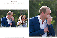 Exclusive! Prince William Wipes Eyes on Emotional Taj Visit