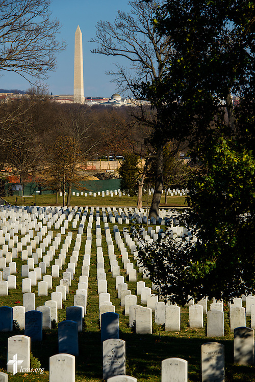 Arlington National Cemetery on Thursday, Jan. 26, 2017, in Arlington, Va. LCMS Communications/Erik M. Lunsford
