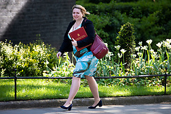 © Licensed to London News Pictures. 15/05/2018. London, UK. Secretary of State for Northern Ireland Karen Bradley arrives on Downing Street for the Cabinet meeting. Photo credit: Rob Pinney/LNP