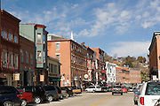 Galena Illinois USA, downtown and city center. October 2006