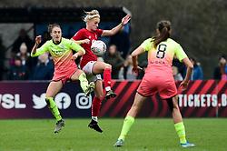 ,Jasmine Matthews of Bristol City - Mandatory by-line: Ryan Hiscott/JMP - 24/11/2019 - FOOTBALL - Stoke Gifford Stadium - Bristol, England - Bristol City Women v Manchester City Women - Barclays FA Women's Super League