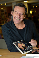 Jean Luc Reichmann during the presentation of the new book in the Filigranes Library . Brussels, 5 december 2015, Belgium