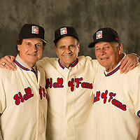 Dec 09, 2013 - Lake Buena Vista, FL, U.S.A  -- <br /> <br /> MLB Hall Of Fame Inductees <br /> Joe Torre, Bobby Cox and Tony LaRussa <br /> <br /> Photo by Preston C. Mack