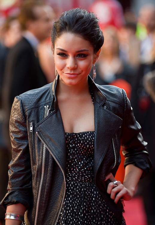 London Oct 7th  Vanessa Hudgens attend the UK premiere of 'High School Musical 3' at the Empire cinema, Leicester Square on October 7, 2008 in London, England.