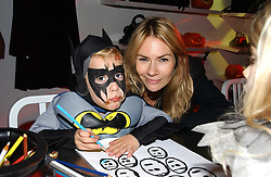 JACKIE PERTWEE and her son FREDDIE at a party to celebrate the launch of DKNY Kids and Halloween in aid of CLIC Sargent and RX Art held at DKNY, 27 Old Bond Street, London on 31st October 2006.<br /><br />NON EXCLUSIVE - WORLD RIGHTS