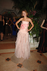 NATALIA VODIANOVA at The Diner Des Tsars in aid of Unicef to celebrate the launch of Quintessentially Wine held at the Guildhall, London EC2 on 29th March 2007.<br /><br />NON EXCLUSIVE - WORLD RIGHTS