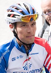 16.04.2018, Folgaria, ITA, Tour of the Alps, Italien 1. Etappe Arco nach Folgaria im Bild Georg Preidler (AUT, Groupama - FDJ) // during the Tour of the Alps 1st stage from Arco to Folgaria, Italy on 2018/04/16. EXPA Pictures © 2018, PhotoCredit: EXPA/ Reinhard Eisenbauer