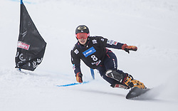 Shiba Masaki during the FIS snowboarding world cup race in Rogla (SI / SLO) | GS on January 20, 2018, in Jasna Ski slope, Rogla, Slovenia. Photo by Urban Meglic / Sportida