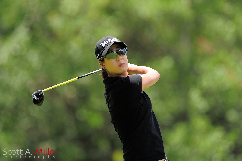 Biridie Kim during the final round of the Symetra Tour's Guardian Retirement Championship at Sara Bay in Sarasota, Florida April 28, 2013. ..©2013 Scott A. Miller