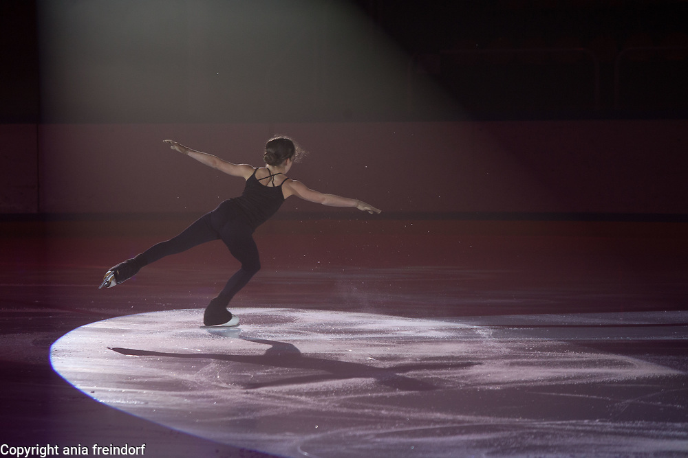 International Ice Skating Gala, Courchevel, France, 20 July 2017, Giulia Celio, Member of National Team, Italy