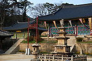 Haeinsa is a head temple of the Jogye Order of Korean Buddhism in the Gaya Mountains,South Gyeongsang Province.<br />