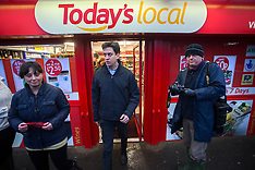 FEB 11 2014 Ed Miliband visits Purley on Thames